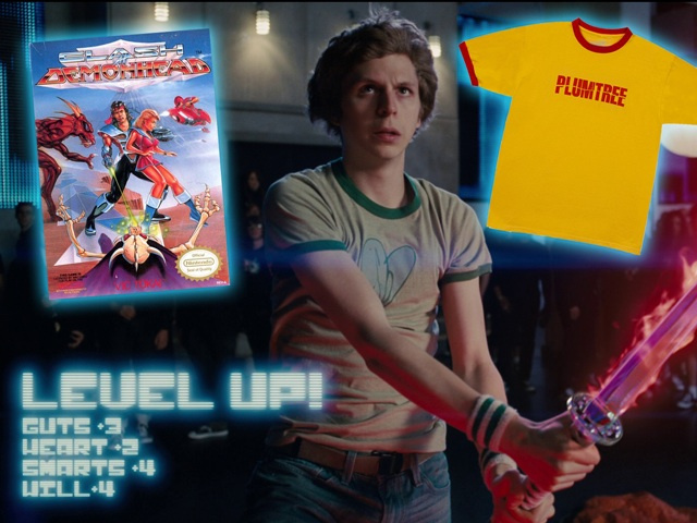 Harta karun Scott Pilgrim Vs The World