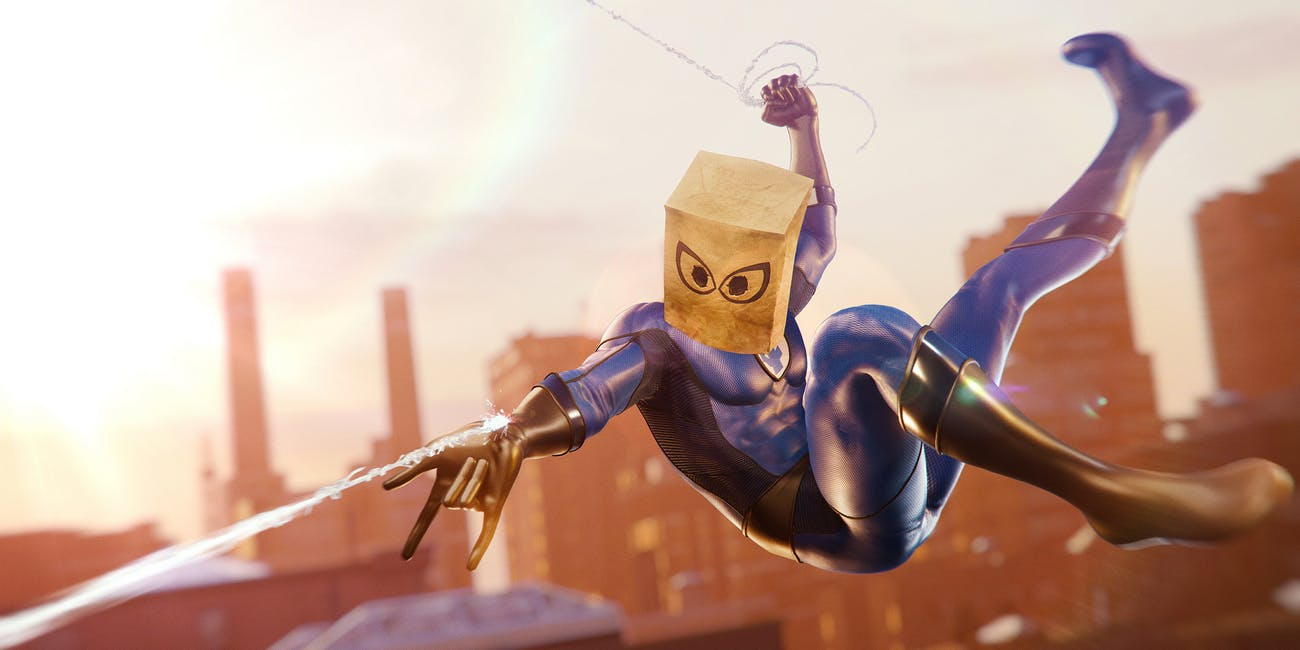 the bombastic bag man in spider man for the ps4