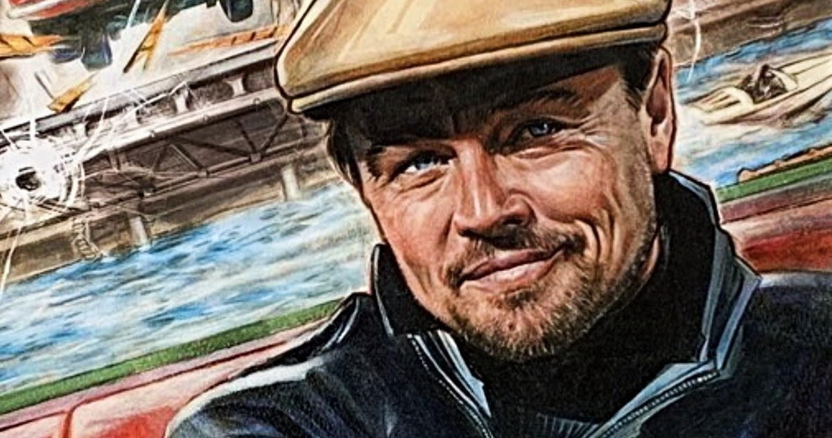 Leonardo DiCaprio Adalah Dyn-O-Mite dalam Once Upon a Time in Hollywood Spoof Poster