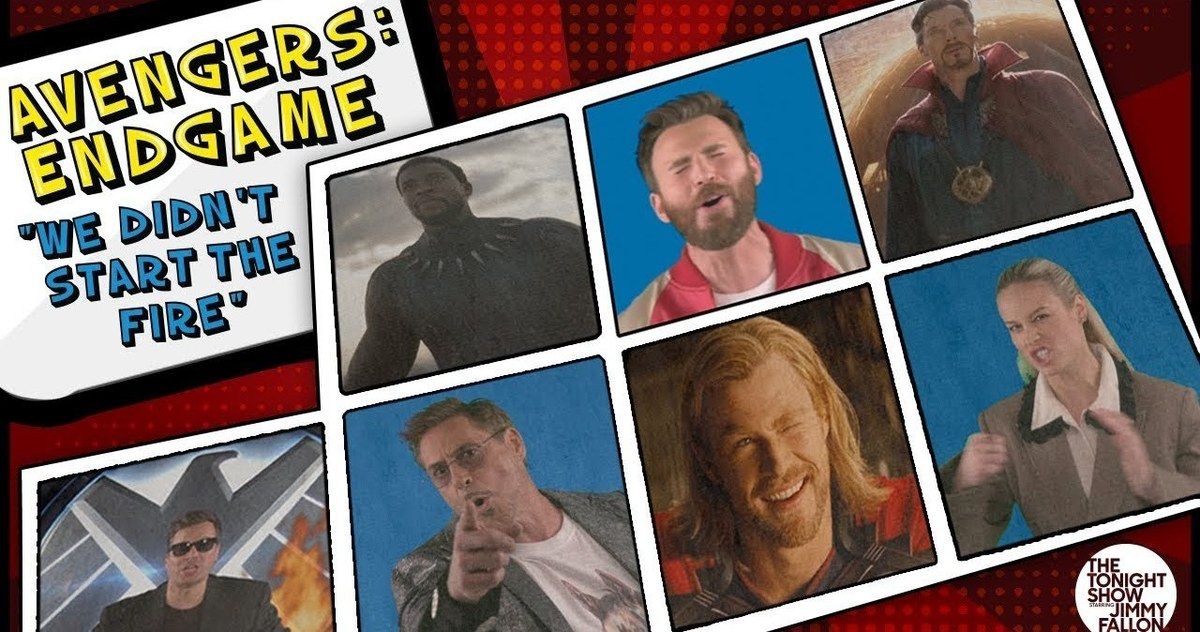 Tonton Avengers: Endgame Cast Sing MCU-Inspired Cover of We Didn't Start the Fire