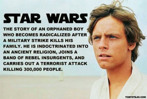 When You Really Get Down To It, Siapakah Luke Skywalker dan Apa Itu Star Wars?